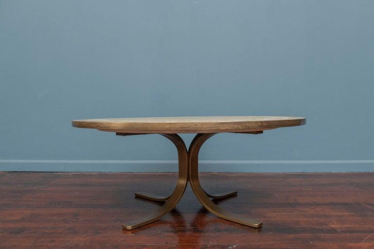 Mid-20th Century Italian Terrazzo Coffee Table For Sale