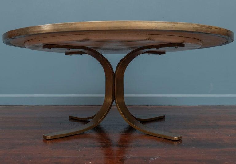 Italian Terrazzo Coffee Table For Sale 3