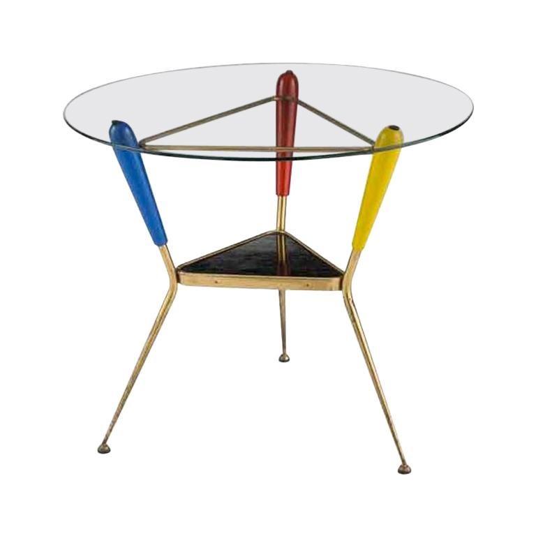 Italian Three Legged Occasional Table