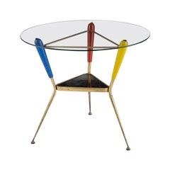 Italian Three Legged Occasional Table