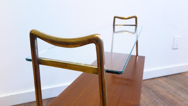 Mid-20th Century Italian Tiered Side Table For Sale