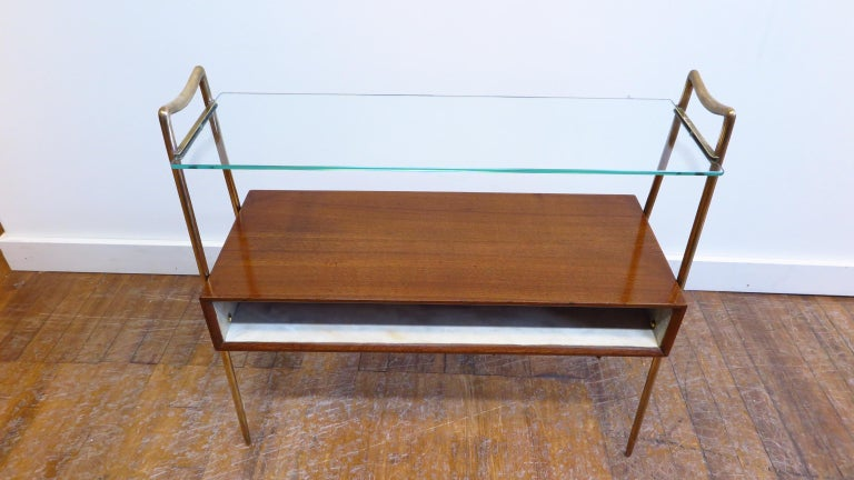 Italian Tiered Side Table For Sale 1