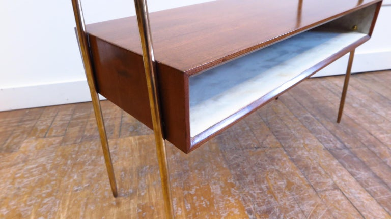 Italian Tiered Side Table For Sale 3