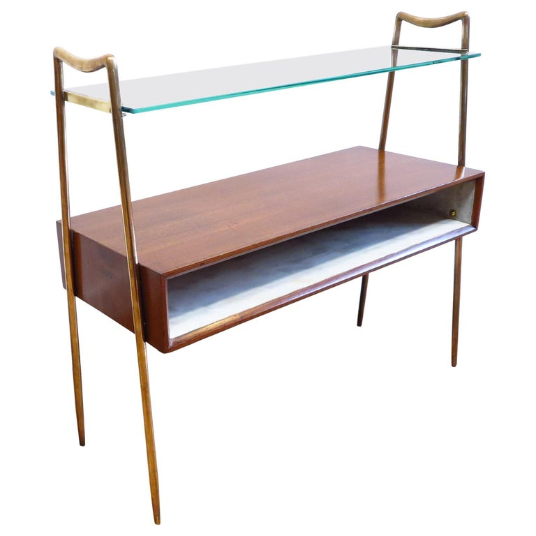 Italian Tiered Side Table For Sale