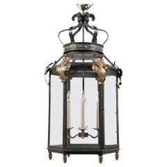Italian Tole Hall Lantern