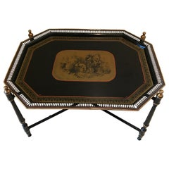 Italian Tole Tray Table
