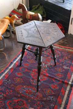 Italian  Tramp Art - Game  Table