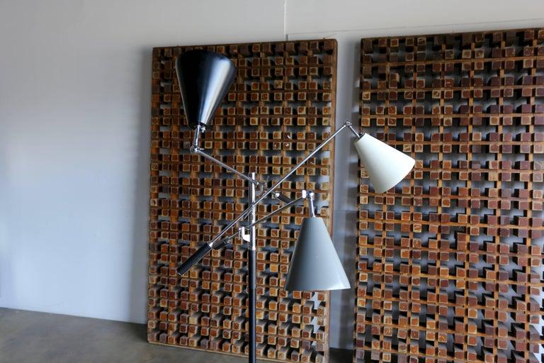 Mid-Century Modern Italian Triennale Floor Lamp For Sale