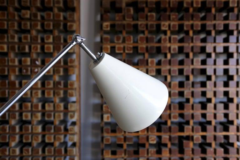Italian Triennale Floor Lamp In Good Condition For Sale In Costa Mesa, CA