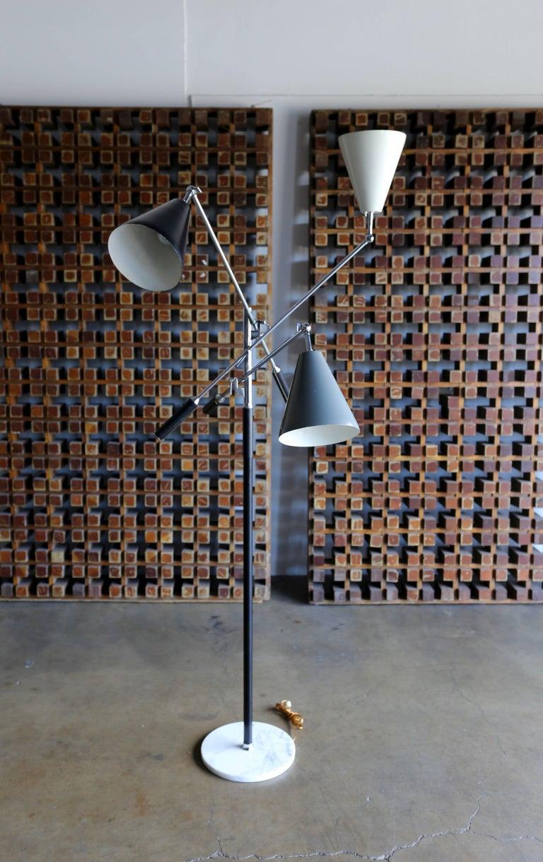Italian Triennale Floor Lamp For Sale 1