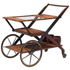 Italian Trolley in Teak