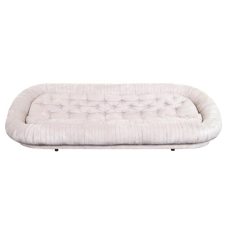 """Italian Tufted """"Cloud"""" Sofa For Sale"""
