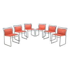 Italian Tulu Velvet Chairs by Tazuhide Takahama, Produced by Gavina, 1968