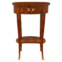 Italian Turn of the Century Louis XV St. Kingwood Side Table