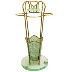 Italian Umbrella Stand by Cesare Lacca for Fontana Arte, 1930s