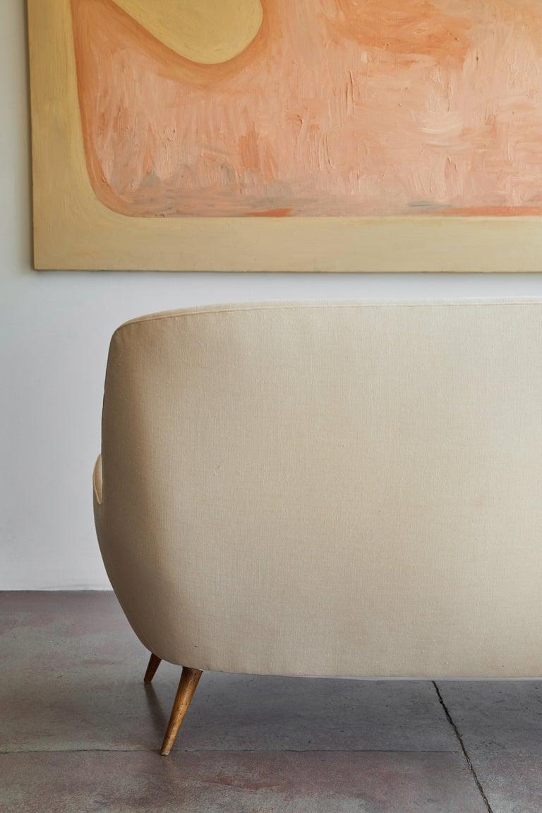 Italian Upholstered Sofa For Sale 5