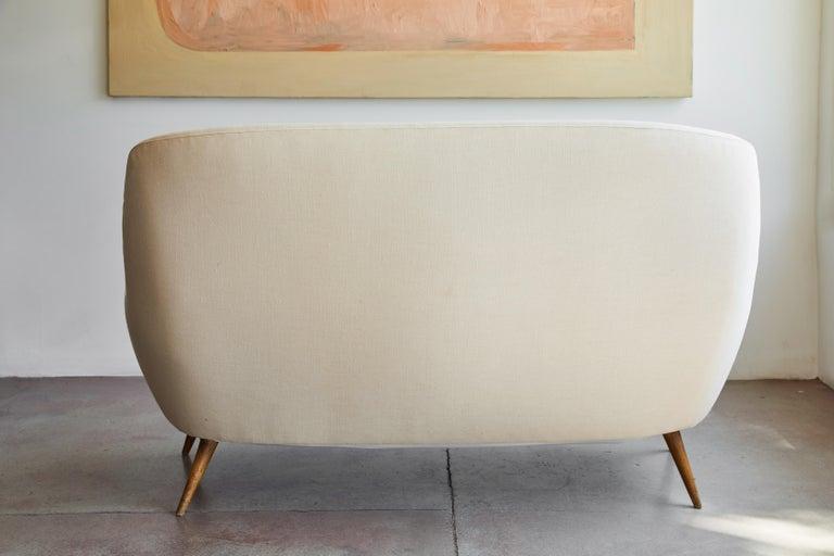 Italian Upholstered Sofa For Sale 6