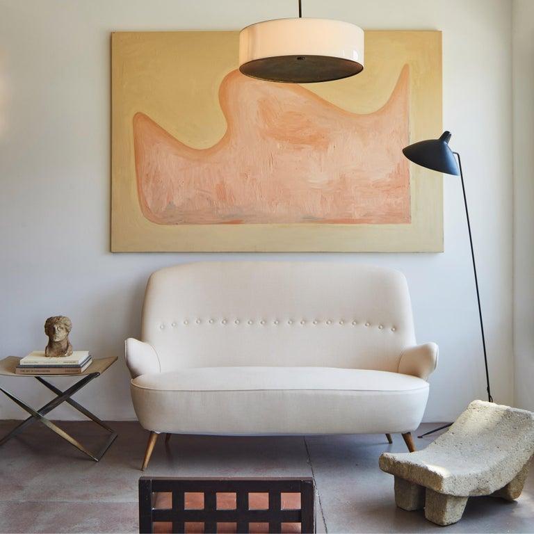Italian Upholstered Sofa For Sale 9