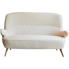 Italian Upholstered Sofa