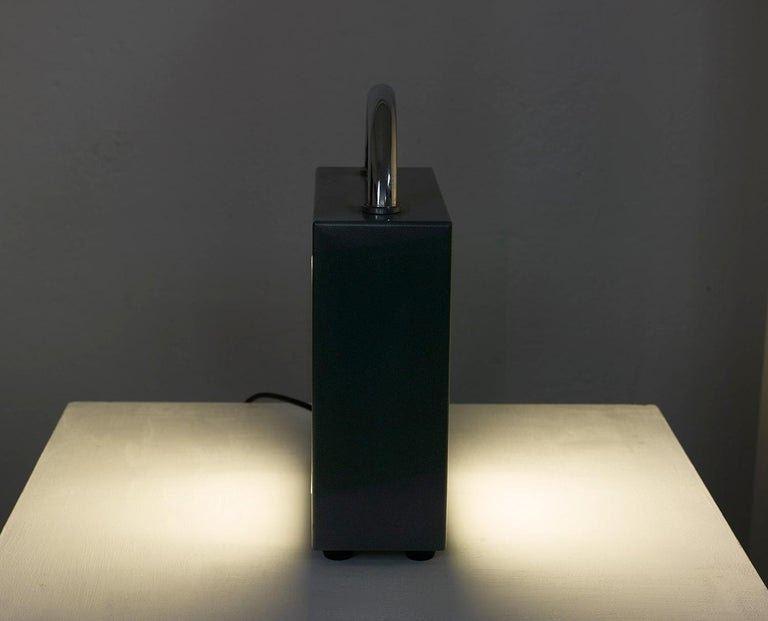 European Italian Valigetta Table Light by Matteo Thun for Bieffeplast 1988, Memphis Style For Sale