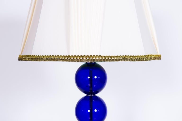 Giant Colorful Pair of  Table Lamps in Blown Murano Glass, Italy Contemporary In Excellent Condition For Sale In Villaverla, IT