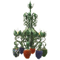 Italian Venetian Eight-Arm Chandelier