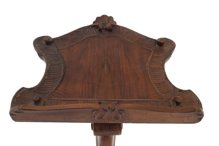 italian venetian grotto style lectern or music stand for sale at 1stdibs. Black Bedroom Furniture Sets. Home Design Ideas
