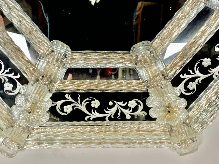 Italian Venetian Mirror, circa 1930s For Sale 5