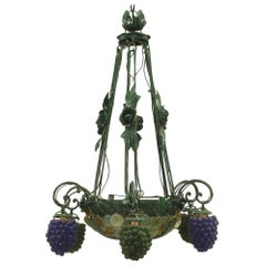 Italian Venetian Six-Arm Chandelier