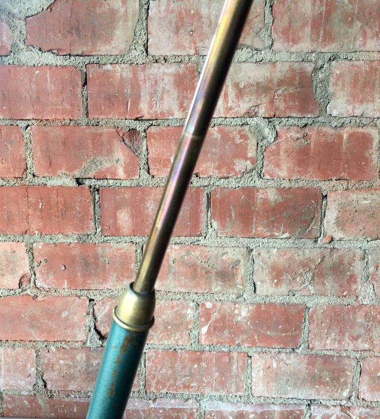 Mid-20th Century Italian Vintage Adjustable One-Arm Floor Lamp, 1950s For Sale