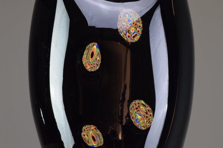 20th Century Italian Vintage Art Glass Vase, 1970s For Sale