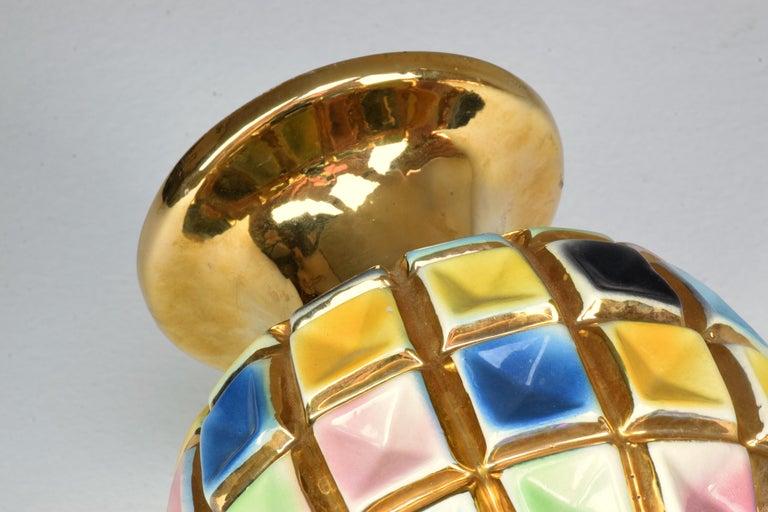 Italian Vintage Ceramic Vase, 1960s 1