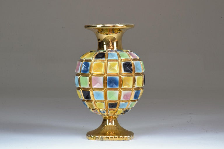 Italian Vintage Ceramic Vase, 1960s 3