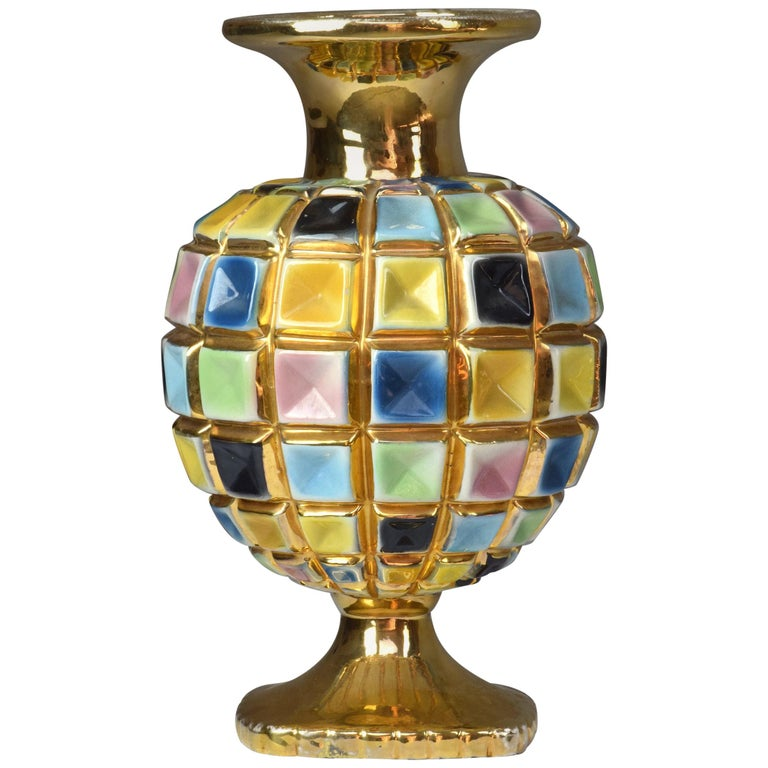 Italian Vintage Ceramic Vase, 1960s