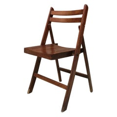 Italian Vintage Folding Chair, 1960s