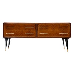 Italian Vintage Midcentury Chest in the Manner of Paolo Buffa