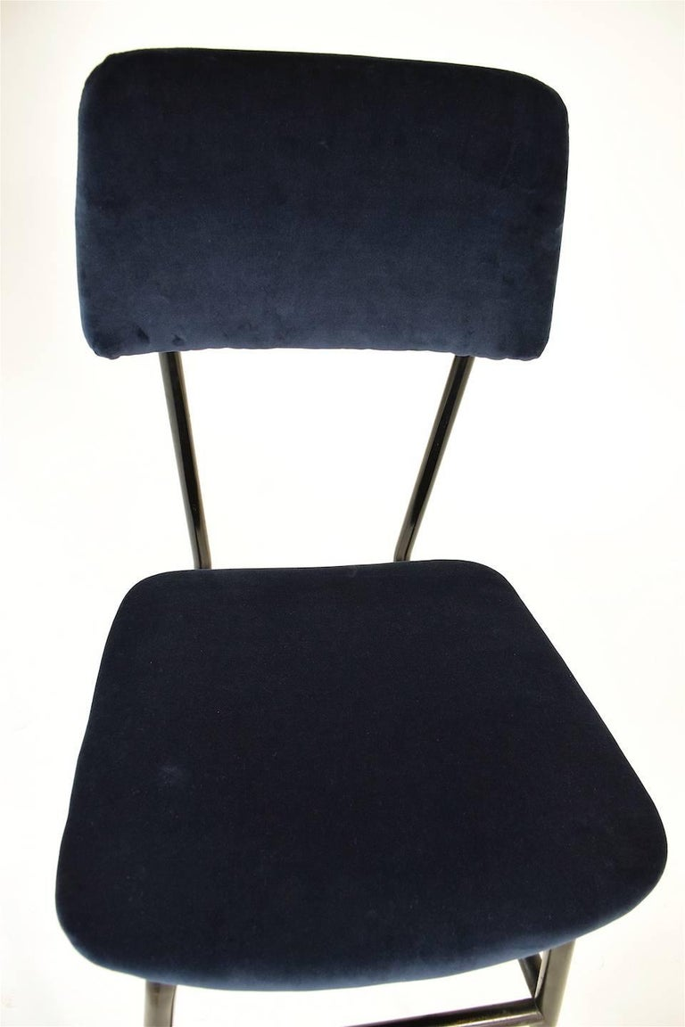 Italian Vintage Mid-Century Dining Chairs by Studio BBPR, 1950's, Set of 6  5