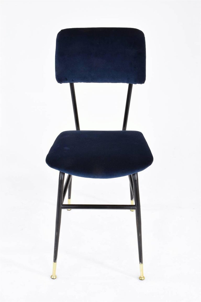 Italian Vintage Mid-Century Dining Chairs by Studio BBPR, 1950's, Set of 6  7