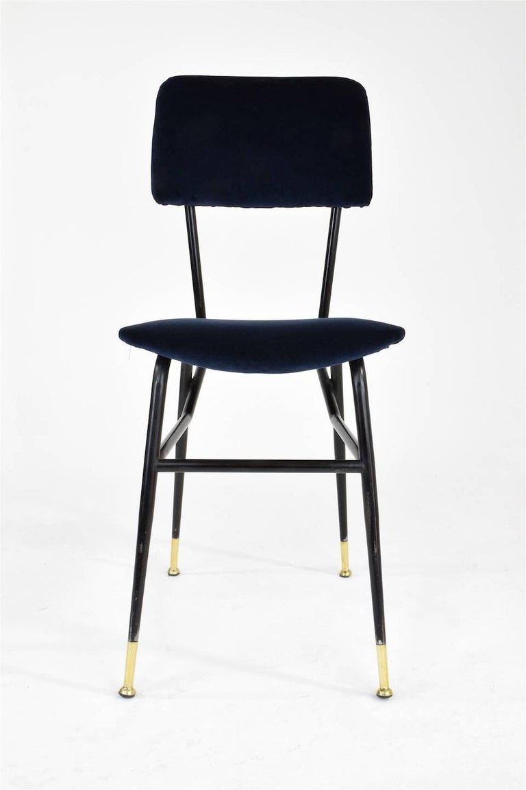 Italian Vintage Mid-Century Dining Chairs by Studio BBPR, 1950's, Set of 6  8