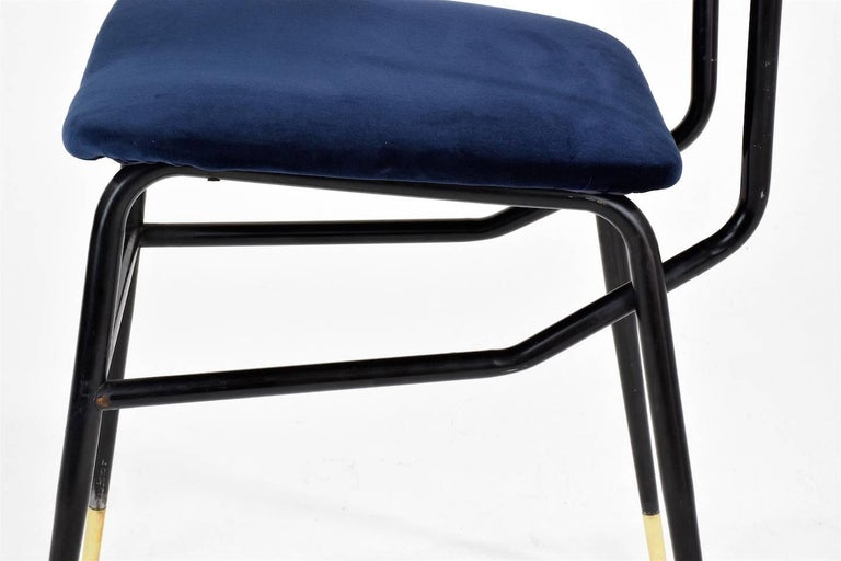 Italian Vintage Mid-Century Dining Chairs by Studio BBPR, 1950's, Set of 6  9