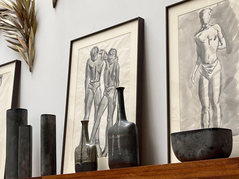 Italian Vintage Murano Glass 'Scavo' Vase by Alfredo Barbini, 'circa 1970s' For Sale 12