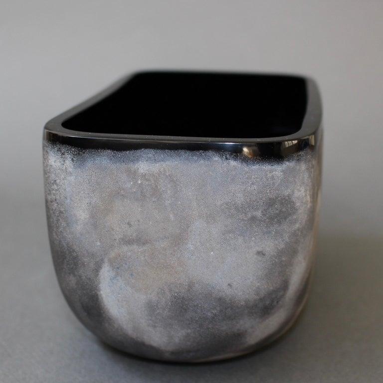Italian Vintage Murano Glass 'Scavo' Vase by Alfredo Barbini, 'circa 1970s' For Sale 4