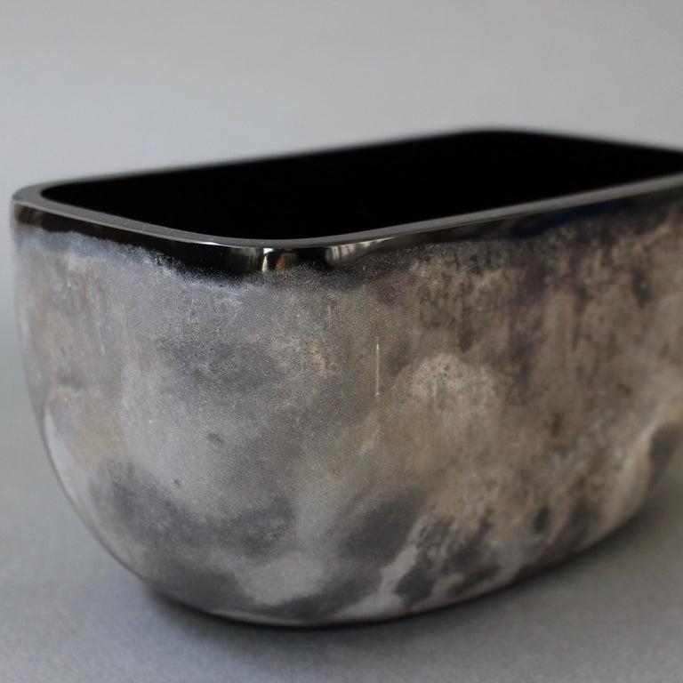 Italian Vintage Murano Glass 'Scavo' Vase by Alfredo Barbini, 'circa 1970s' For Sale 5