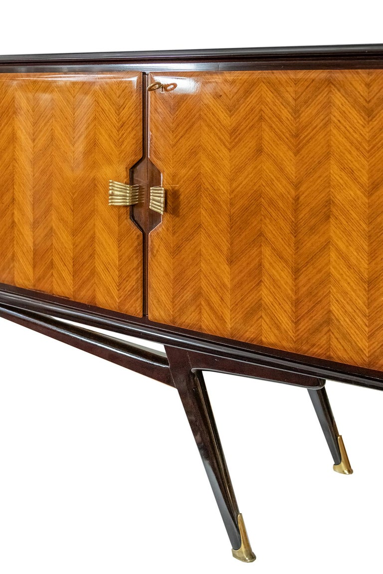 20th Century Italian Vintage Sideboard by Consorzio Esposizmobili Cantu For Sale