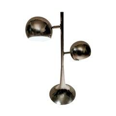 Italian Vintage Steel Table Lamp