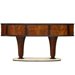 Italian Wall Console in Maple