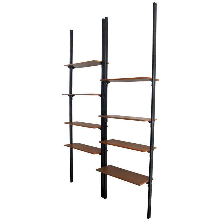 Italian Wall Shelves System For Sale