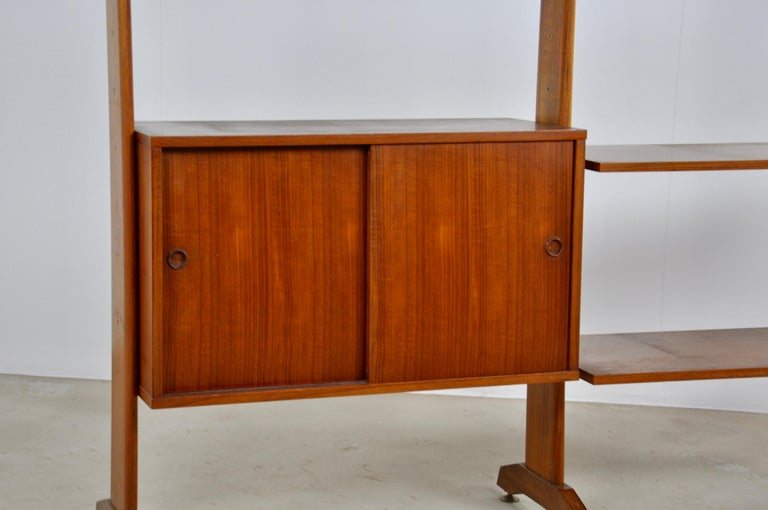 Italian Wall Unit 1960s  In Good Condition For Sale In Lasne, BE