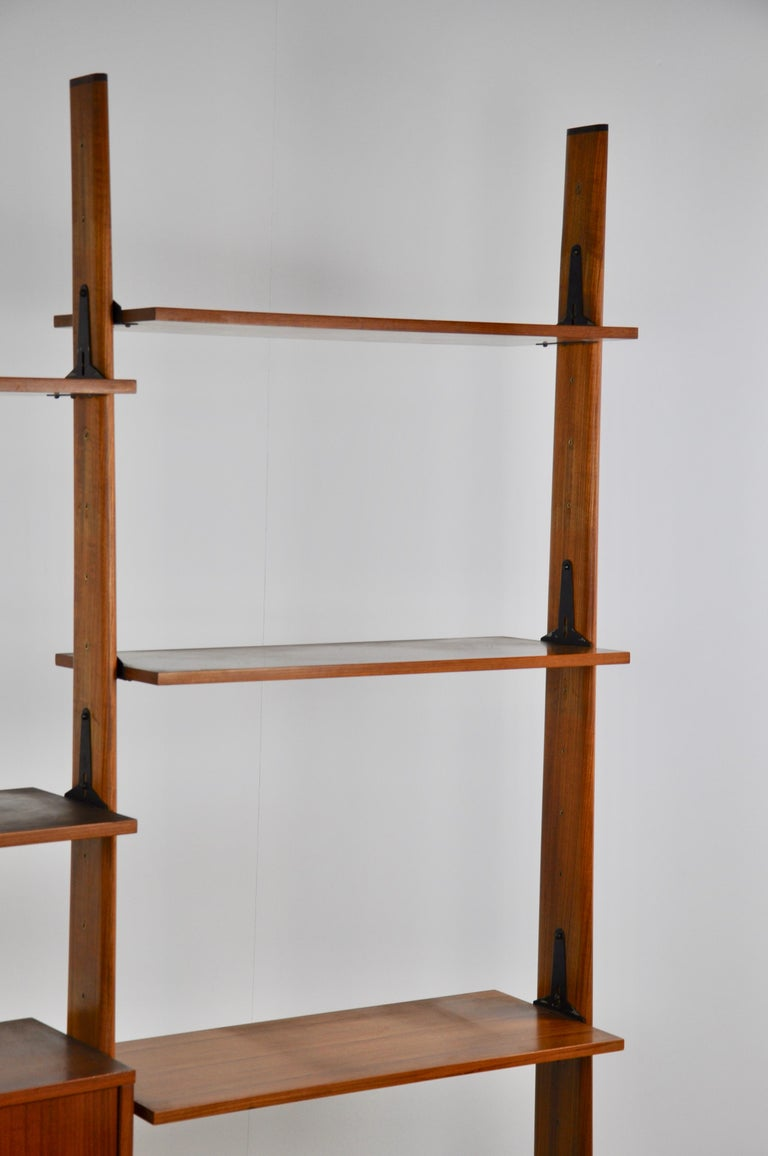 Mid-20th Century Italian Wall Unit 1960s  For Sale