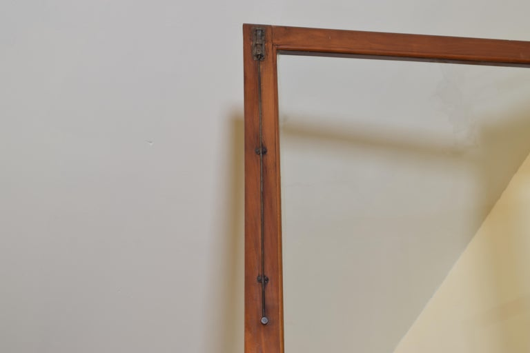 Italian Walnut and Ebonized Tall 2-Piece Bookcase Cabinet, Mid-19th Century For Sale 10